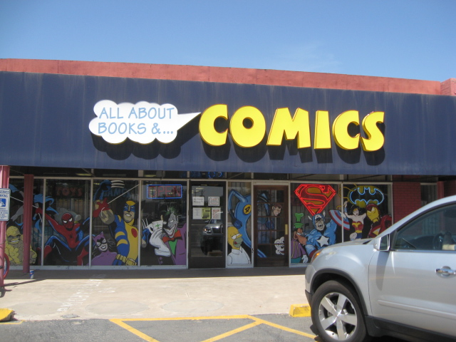 This is the front of the store.  It should have been the first picture I put up, but I do everything bass-ackwards, it seems, so I came in the back and went out the front, and went around the store to get back to my car and on to my next stop.