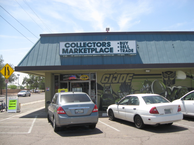 The sign says Collector's Marketplace, but it's really a branch office of Pop Culture Classics, whose main store is in Tempe and too far out of my way to visit.