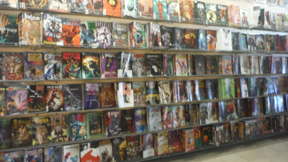 There is a huge rack of back issues still on sale at cover price along the west wall of the store. The trick is to wait for a sale and then go cherry pick that wall of stuff you just didn't quite buy the first time you saw it.
